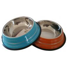 Ciotola rotonda in metallo grande