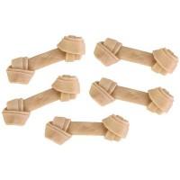 5 ossi da masticare in pelle bovina cm 6,3