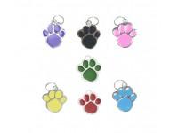 Medaglietta per cani di taglia piccola a forma di zampetta